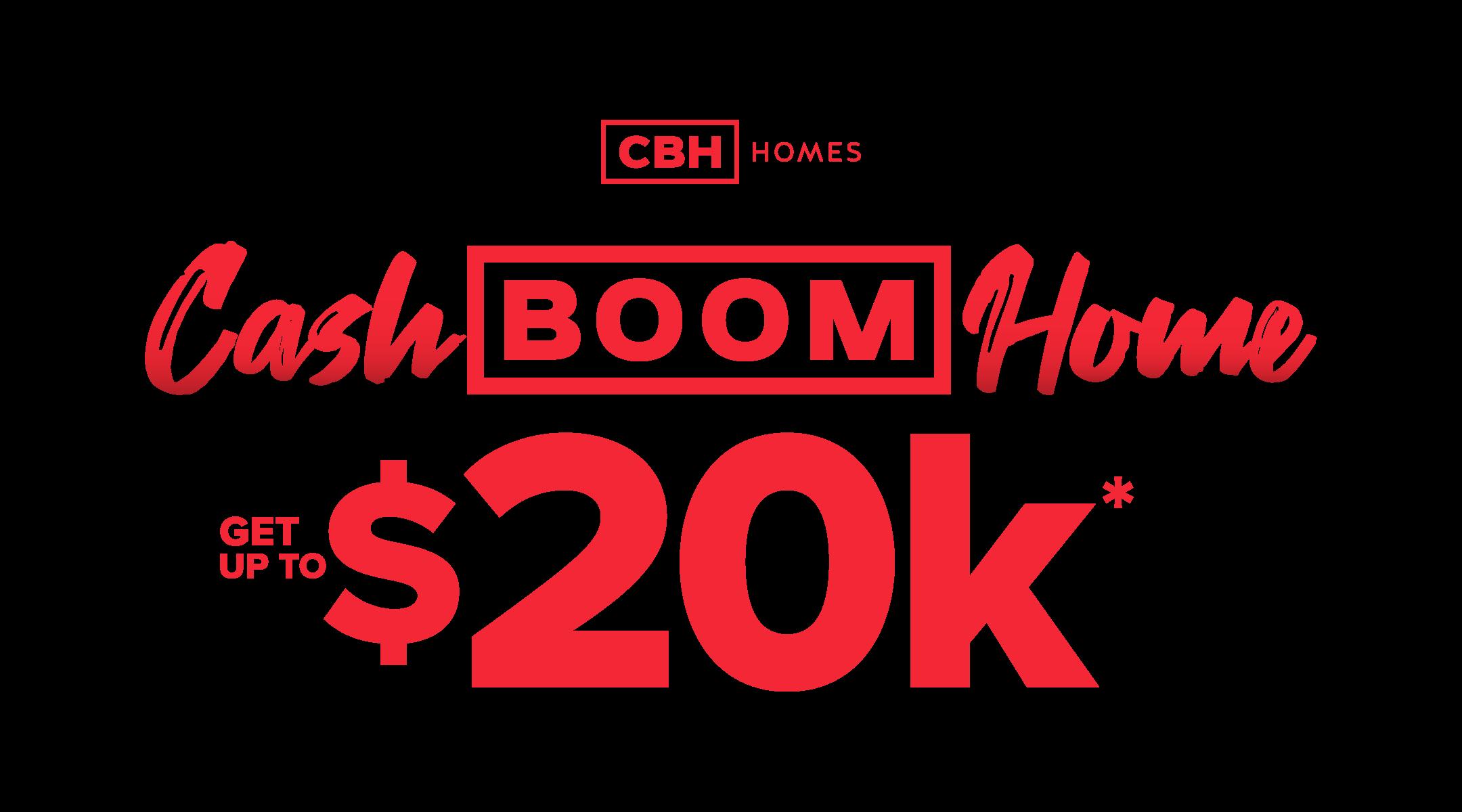 Cash Boom Home logo