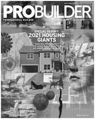 Pro Builder Housing Giants Builder Rankings cover